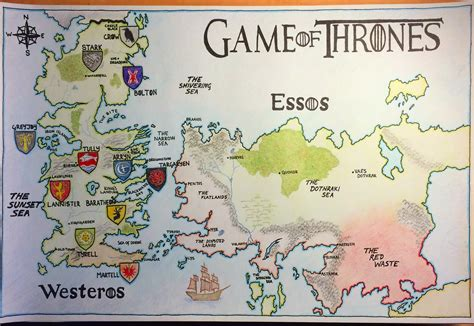 essos map no spoilers a map of westeros and essos it s not but it s mine