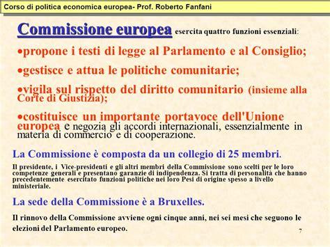 consiglio dei ministri europei istituzioni dell unione europea ppt scaricare