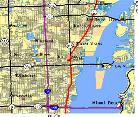 miami zip code map 33138 zip code miami florida profile homes