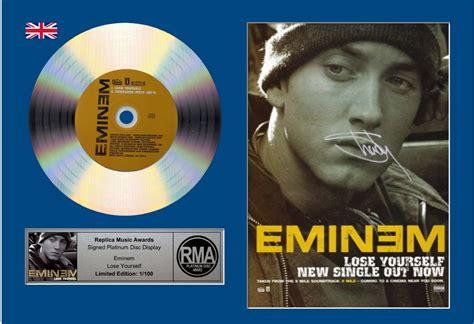 testo eminem lose yourself nuovi dischi di platino per eminem grazie a curtain call
