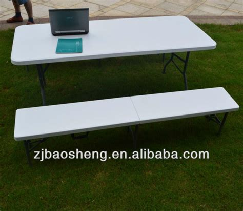 cheap plastic bench outdoor or indoor 6ft folding cheap plastic beer bench