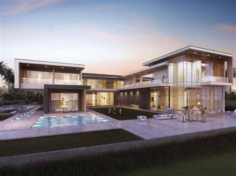 hill villa design beautiful modern villa for sale in dubai hills