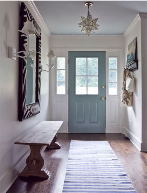 foyer paint color ideas photos front door color tips amykranecolor