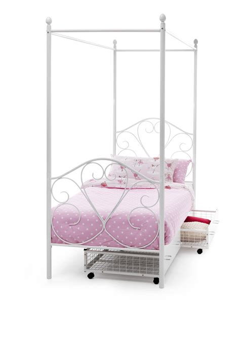 Four Post Bed Frame by Serene Isabelle Four Poster Bed Frame