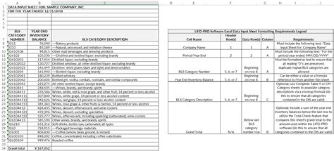 Unicap Calculation Spreadsheet In Software Support Lifo Services Software Unicap Calculation Lifo Excel Template