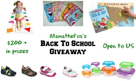 Back To School Giveaway 2017 - mamathefox mamathefox s 2017 back to school giveaway mamathefox