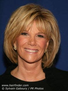 party hairstyles for neck length hair joan lunden hairstyles pictures home 187 joan lunden