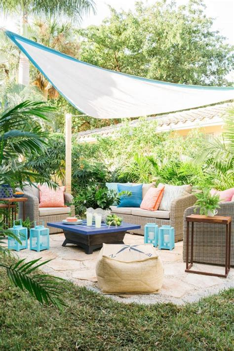 diy backyard patio add outdoor living space with a diy paver patio hgtv