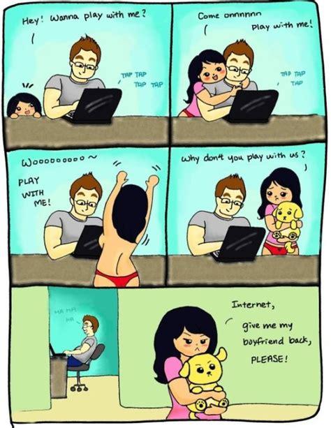 Internet Girlfriend Meme - internet vs girlfriend 2014