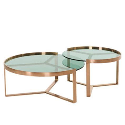 glazen salontafel met koper koperen bronzen salontafels online kopen