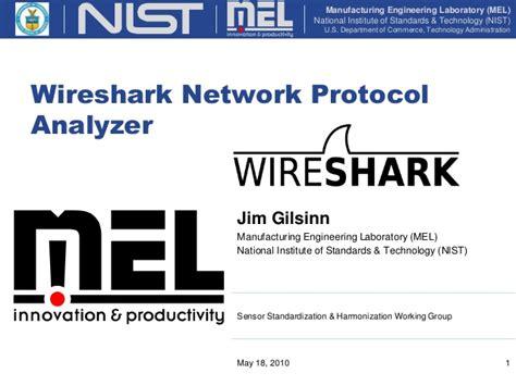 tutorial wireshark ppt wireshark network protocol analyzer