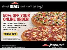 Pizza Hut Coupons & Coupon Codes – With Pizzas Hut coupon ... Free Breadsticks Coupon For Pizza Hut