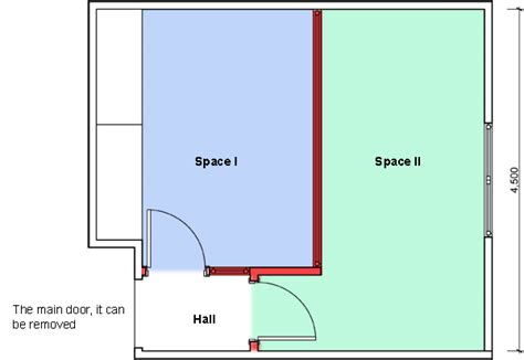 how to divide a room in two how to divide a bedroom in two spaces