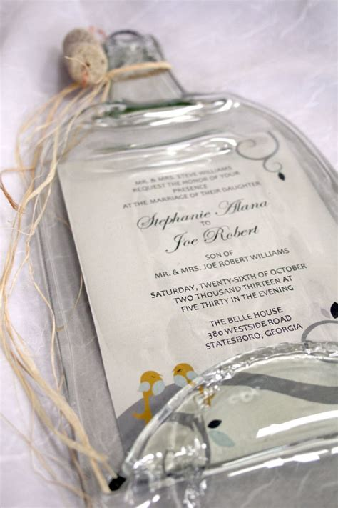 25 best ideas about wedding invitation keepsake on creative wedding gifts future