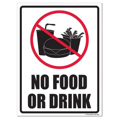 no food or drink no food or drink signs clipart best