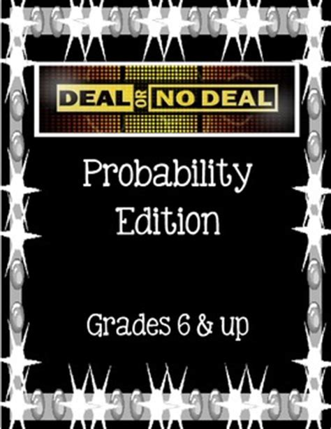 Deal Or No Deal Probability Game For Grades 6 By Deal Or No Deal Classroom
