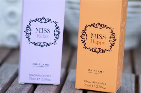 Parfum Oriflame Miss Happy oriflame miss happy miss relax fragrance mist