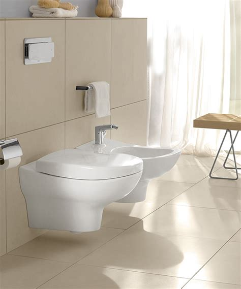 bidet eckig my nature collection by villeroy boch an airy new design