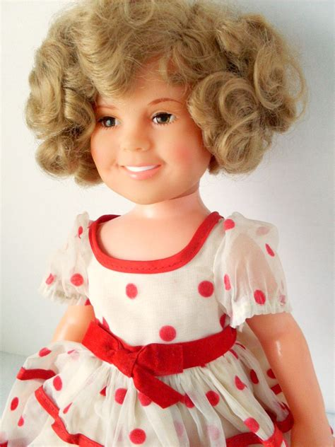 items similar to vintage 1972 16 inch vinyl shirley temple doll on etsy