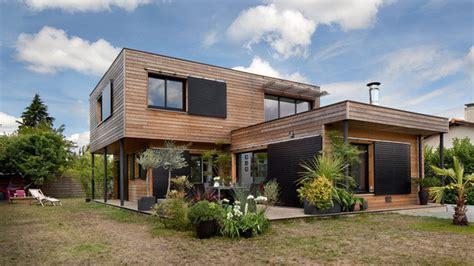 Maisons Durables Une Maison Bois De Constructeur Mais
