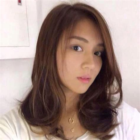 kathryn bernardos hair color new hair color of kathryn bernardo impression hair style