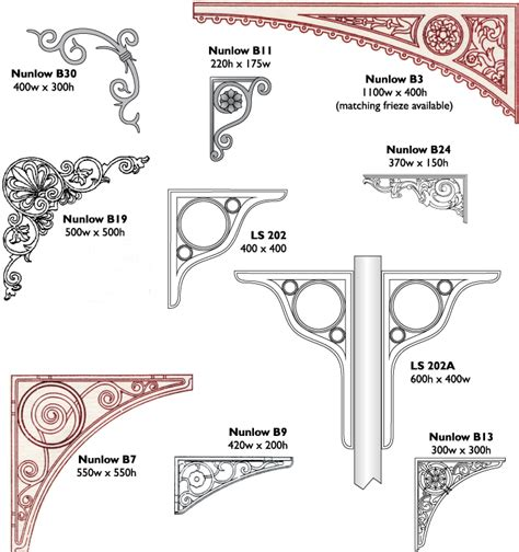 Architectural Brackets Spandrels Brackets Leander Architectural Cast Signs