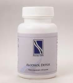 Do Alcoholics To Detox by Detox 60 Capsules By Nutri Dyn