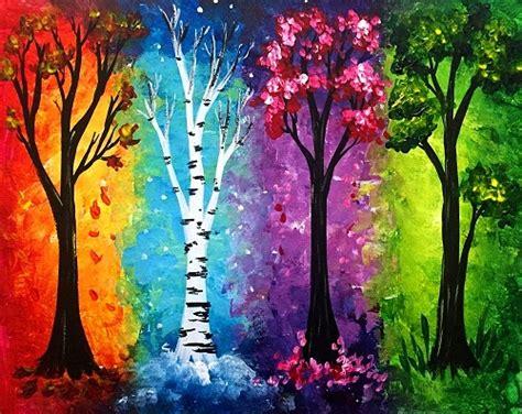 paint nite paintings paint nite seasons ii
