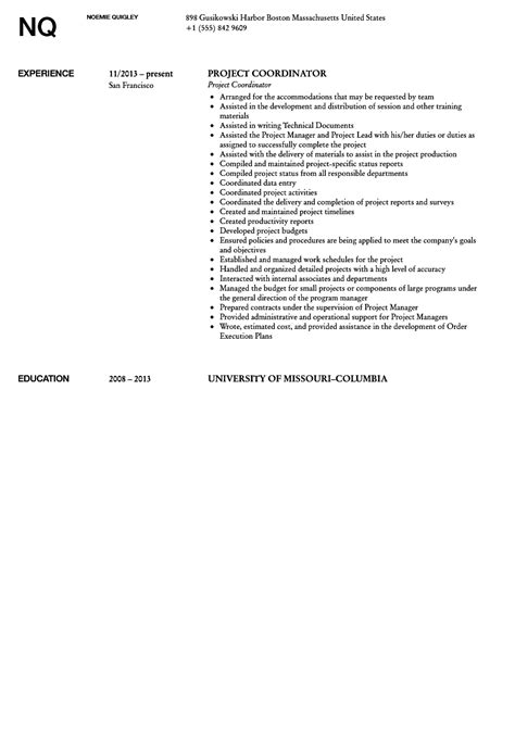 it project manager cv template project management prince2 cv