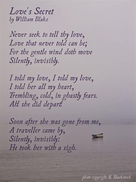 secret poems for never seek to tell thy lars p syll