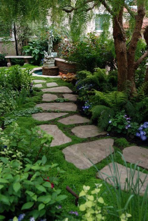 backyard pathways serenity in design stepping stones