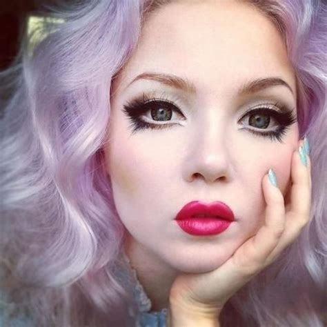 hair and makeup doll baby doll makeup nails hair and beyond pinterest