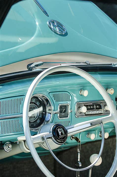 Hipster Duvet 1962 Volkswagen Vw Beetle Cabriolet Steering Wheel