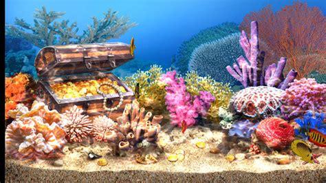 living aquarium screensaver apk
