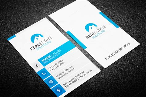 real estate business card template real estate business card 36 business card templates on
