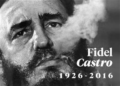 fotos comicas fidel castro muere fidel castro el 250 ltimo revolucionario
