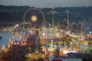 vasen stuttgart blick auf das cannstatter volksfest fahrgesch 228 fte