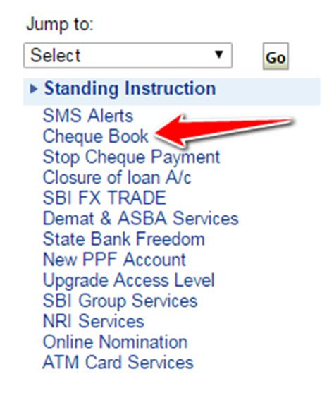 application letter for new cheque book sbi how to request cheque book in sbi atm