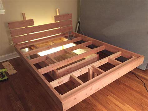 bed designs plans floating platform bed modern also low nightstand for