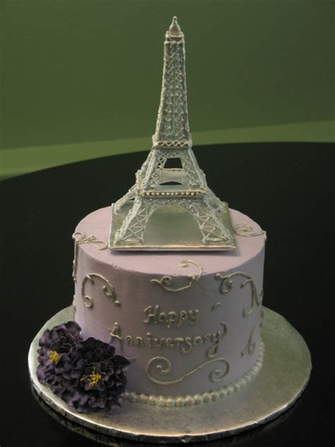 Eiffel Tower Anniversary Cakecentral Com Eiffel Tower Cake Template
