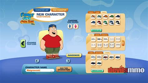 Play family guy games online games