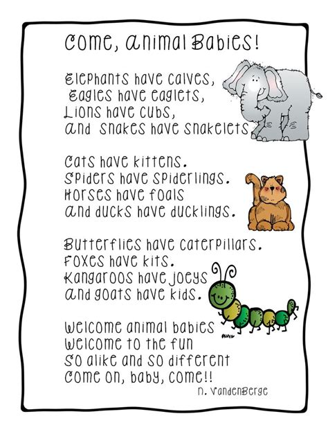 themes of old english poetry 1000 images about preschool theme baby animals on