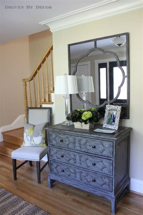 Small Entryway Chest A Foyer Quot Before Quot And Quot After Quot Driven By Decor