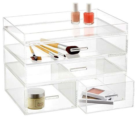 ondisplay 4 tier acrylic cosmetic makeup organizer