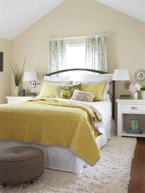Yellow Bedroom Decorating Ideas | 2014 bedroom decorating ideas with yellow color modern