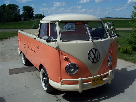 volkswagen wagon 1960 1960 volkswagen single cab for sale on bat auctions