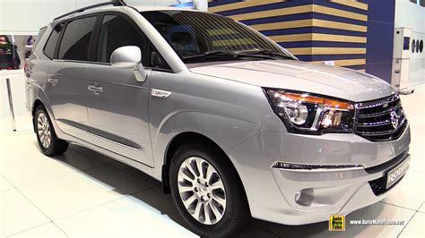 ssangyong rodius interior 2016 ssang yong rodius sapphire 2 0 diesel exterior