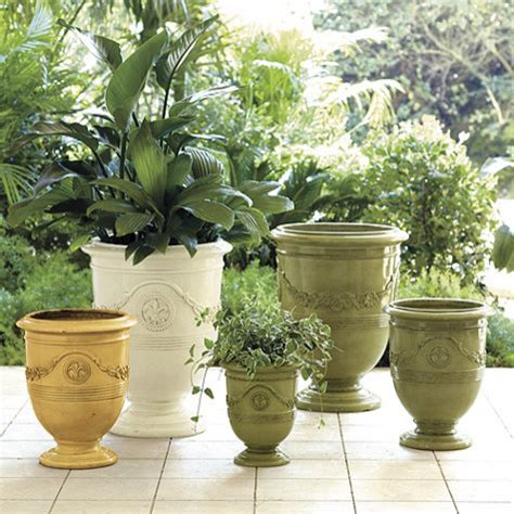 Traditional Planters by Toulon Planter Traditional Outdoor Pots And Planters