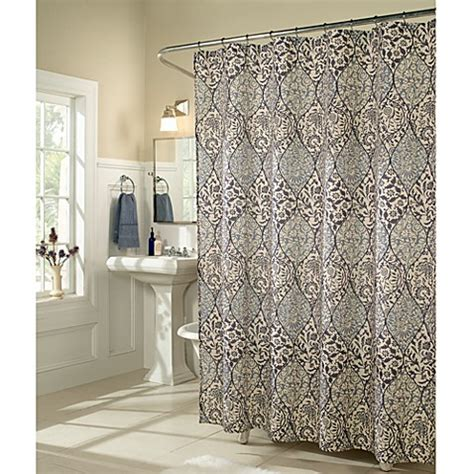 m m shower curtain m style istanbul shower curtain bed bath beyond