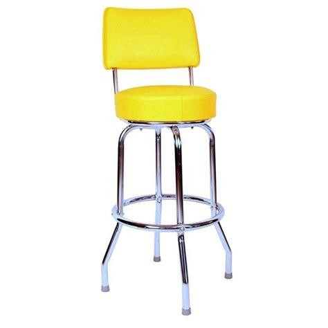 1957 bar stool yellow